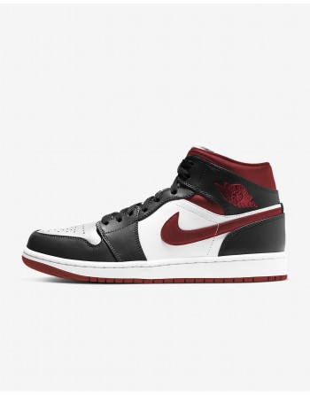 Jordan 1 Mid Gym Red Black...